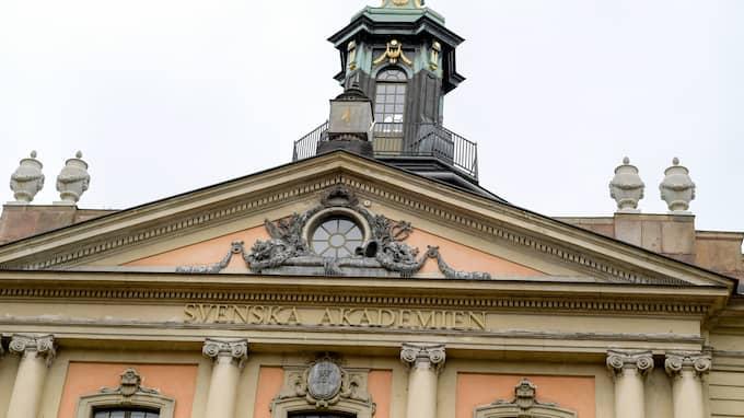 Svenska Akademien genomgår just nu en stor kris. Foto: JANERIK HENRIKSSON/TT NYHETSBYRÅN