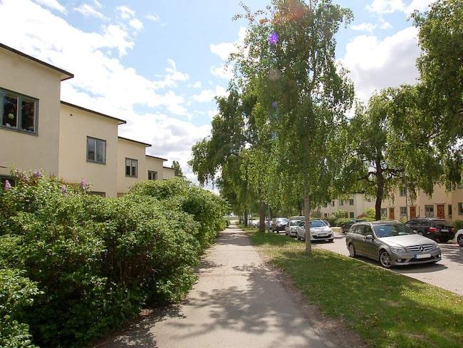 Ålstensgatan är känd och eftertraktad att bo på.