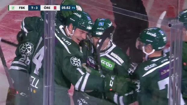Highlights: Tio mål (!) och matchstraff när Färjestad vann