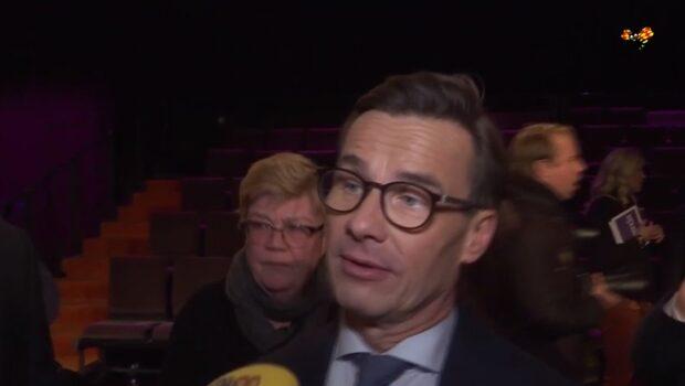 Kristersson (M): Min hand är utsträckt till alliansen