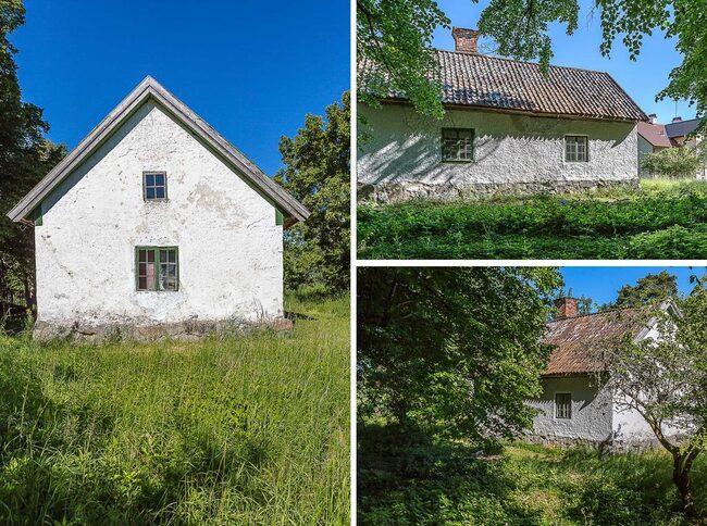 Huset med anor från 1500-talet har i stort sett varit ödelagt, allt är i original.