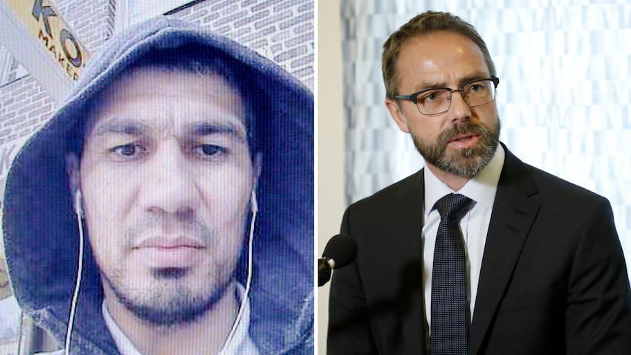 """Rakhmat Akilov ska ha pekat """"fuck you"""" i rätten"""