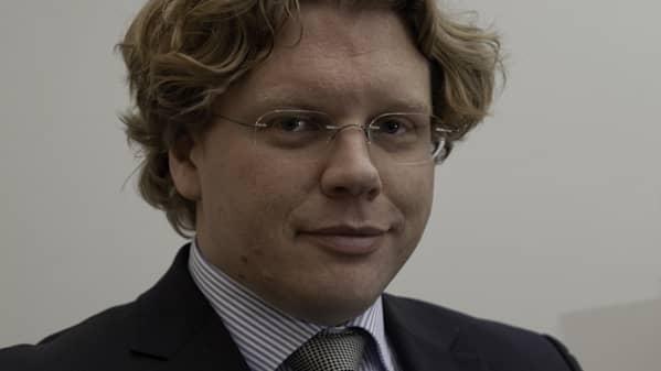 Johan Aspelin, vd Golvbranschen. Foto: Tom Martinsen