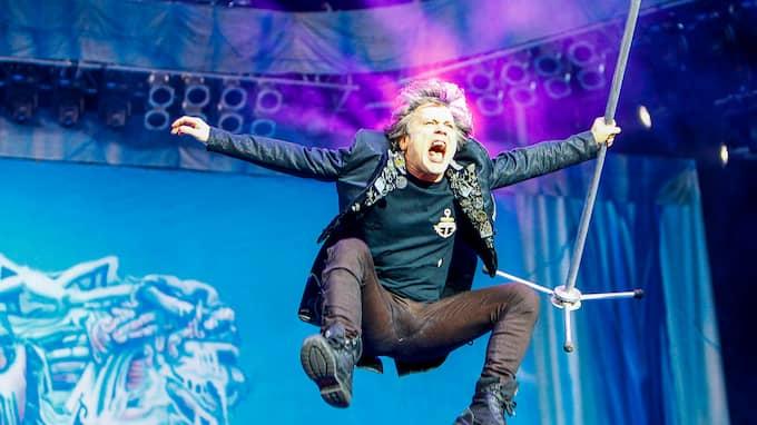 Bruce Dickinson och Iron Maiden kommer till Sweden Rock Festival i sommar. Foto: PEO MÖLLER