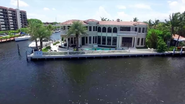 Se Jula-arvingens lyxhus i Florida