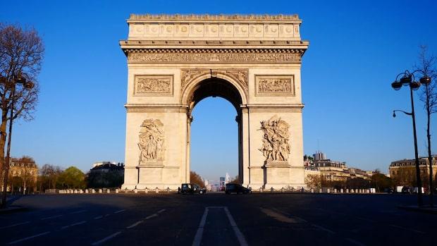 """Paris ligger öde: """"Går in i sin allra svåraste tid"""""""