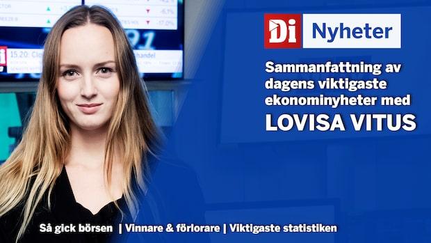 Marknadsnytt: Över 2500 svenskar bekräftade smittade