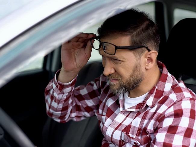 11 procent med körkort klarar inte Transportstyrelsens gräns.