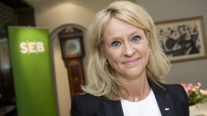 Annika Falkengren lämnar sin post som vd i SEB. Foto: Jonathan Näckstrand