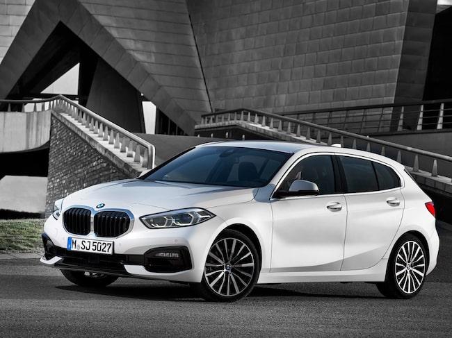 Nya BMW 1-serie kan komma som elbil 2020.