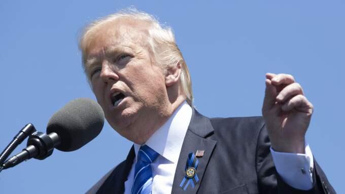 Trump bad FBI lägga ned Flynn-utredning. Foto: Rex/Shutterstock / REX/SHUTTERSTOCK REX FEATURES