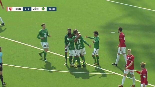 Höjdpunkter: Degerfors IF-Jönköpings Södra