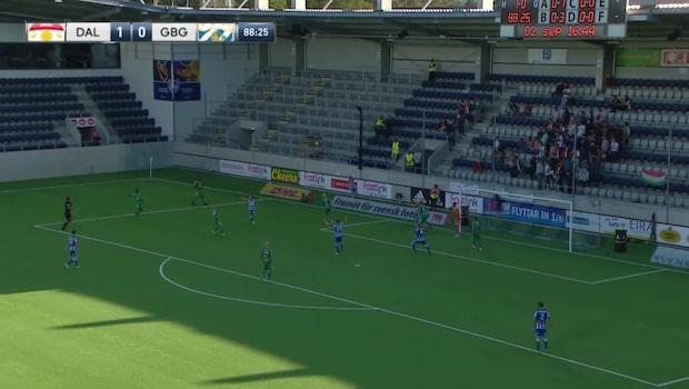 Höjdpunkter: Dalkurd-IFK Göteborg