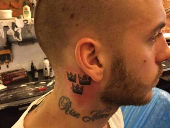 anton hysen tatuering