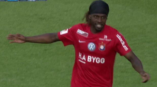 Mutumba gör mål efter 63 sekunder