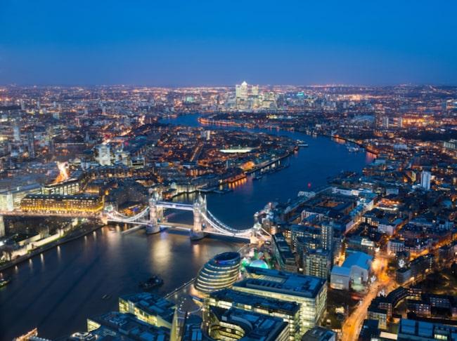 <span>Prisnivån i London har sjunkit, men är fortfarande något dyrare än Stockholm för turisten. Foto: Shutterstock</span>