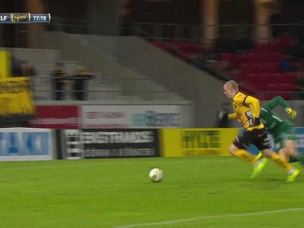 Gustavsson matchhjälte för Elfsborg