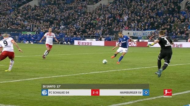 Höjdpunkter: Schalke-Hamburg