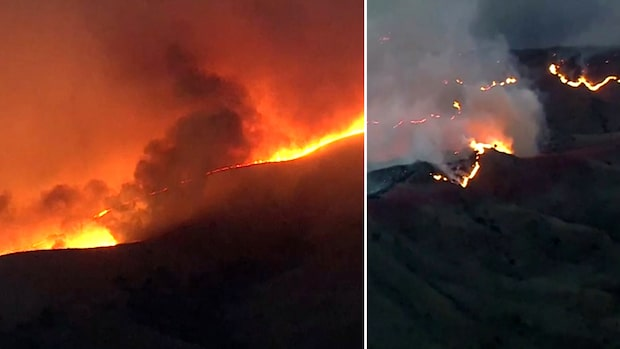 Här rasar skogsbranden – tvingar tusentals att evakuera