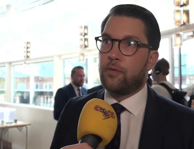 Åkesson om andre vice talman: Otroligt svagt