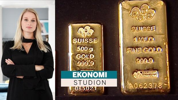 """Anna Svahn: """"Jag älskar guld"""""""