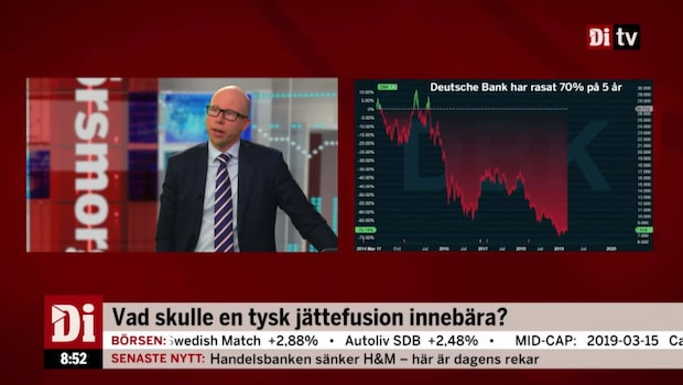 Deutsche Bank bekräftar samtal med Commerzbank