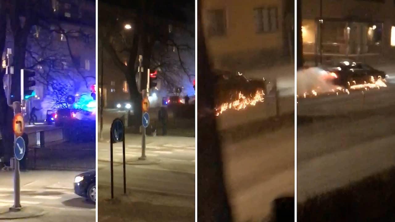 c4af8f03ced Skottlossning i Örebro – polis sköt mot BMW-bil