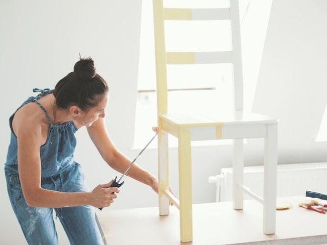Att måla om möbler är inte så lätt som man kan tro.