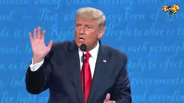 """Trump: """"Den minst rasistiska personen i detta rum"""""""