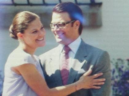 Victoria antligen forlovad med sin daniel