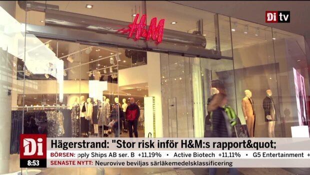 H&M-konkurrenten rapporterar enligt förväntan