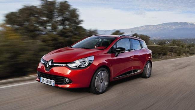 Störst skillnad i förbrukning. Renault Clio TCe Sport Tourer drar 78 procent mer i Teknikens Världs test än det som utlovas av Renault.