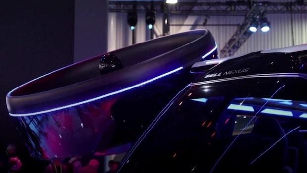 Framtidens fordon visades upp på mässan CES