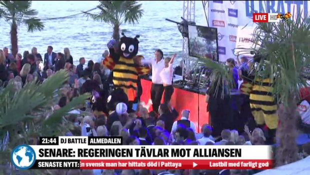 Se hela DJ-battlet mellan Aftonbladet och Expressen