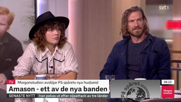 """Amason ett av banden som tar över efter Augustifamiljen i """"På spåret"""""""