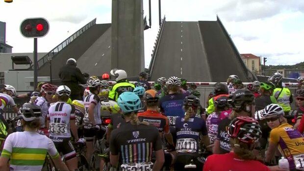 TV: Cykellopp i Norge stoppat av broöppning