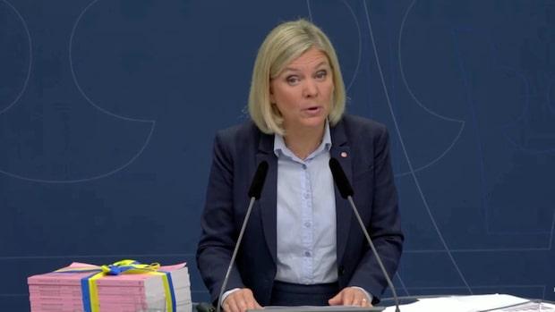"""Finansministern: """"Stora reformer för våra äldre"""""""