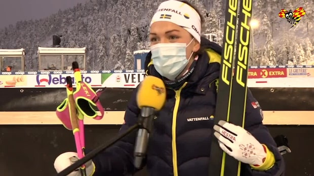 """Moa Lundgren:""""Jag vart fan lite arg"""""""