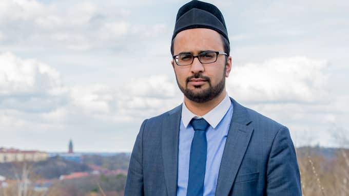 Imamen Kashif Virk är gladöver beskedet från polisen.