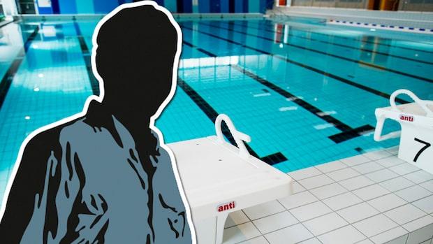 Man våldtog flicka i simhallens bassäng
