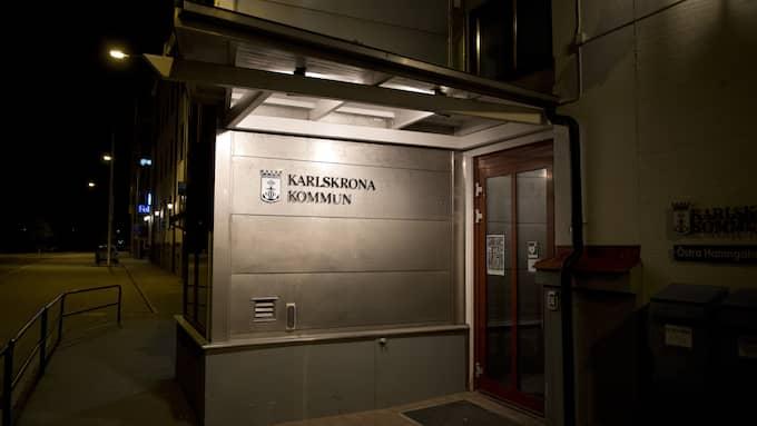 Anställda i Karlskrona kommun har fått för mycket betalt under flera år. Foto: SVEN LINDWALL