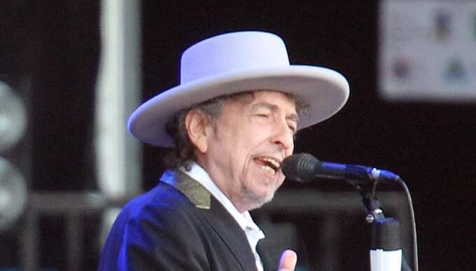 Bob Dylan spelade för Fredrik WIkingsson. Bilden är från ett annat tillfälle. Foto: David Vincent