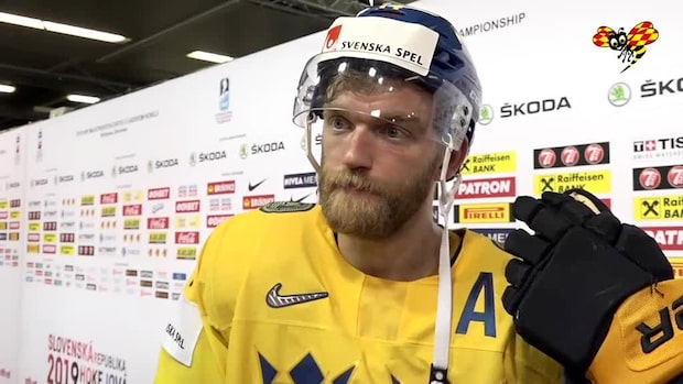 """Ekholm: """"Stolthet att spela för Sverige"""""""