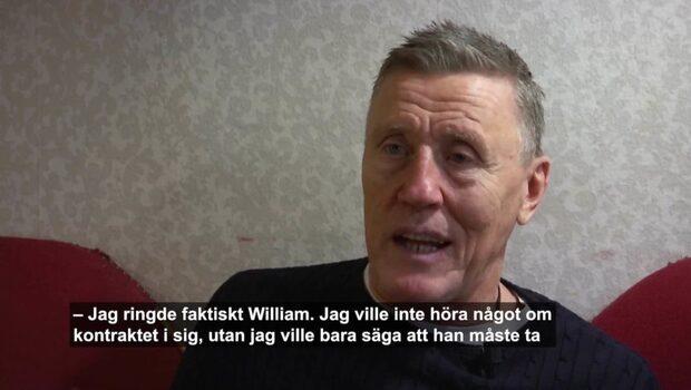Börje Salming avslöjar – ringde Nylander under kontraktsbråket