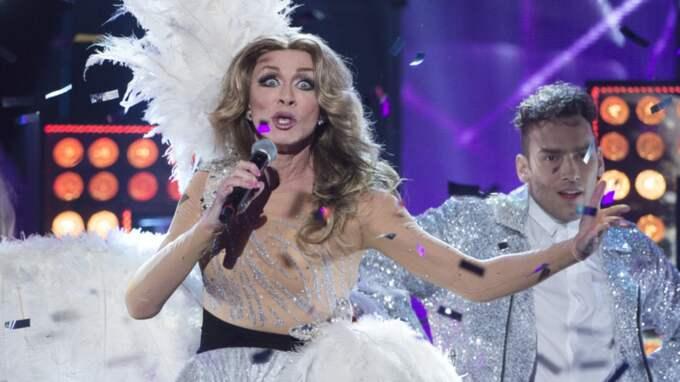 After Dark kom sist i Melodifestivalen, trots att shownumret kostade över 400 000 kronor. Foto: Sven Lindwall