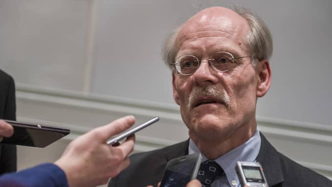 I en stor intervju med DN pratar riksbankschefen Stefan Ingves om sin oro för de svenska hushållens höga skuldsättning. Foto: ERIK NYLANDER/TT NYHETSBYRÅN