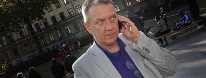 POPULÄR PERSON. Nätfrågorna är glödheta och Piratpartiets toppkandidat Christian Engström har blivit politisk superstar i hela Europa. Foto: Roger Schederin