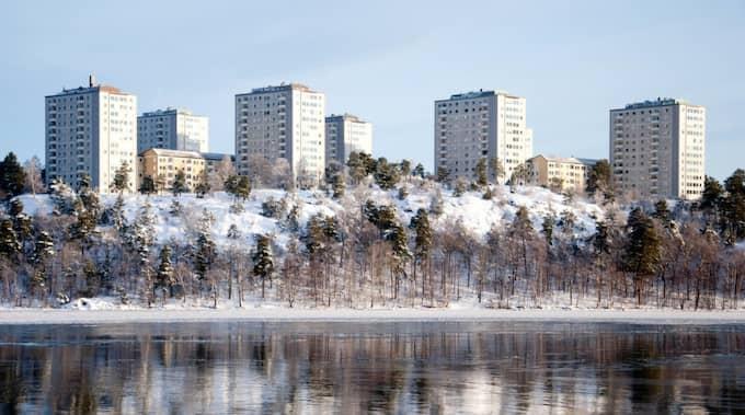 Rekordmånga köar för att få bostad via bostadskön i Stockholm. Foto: Henrik Isaksson/Ibl / /IBL