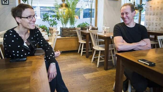 Marie och Gunde Svan. Foto: Sara Strandlund