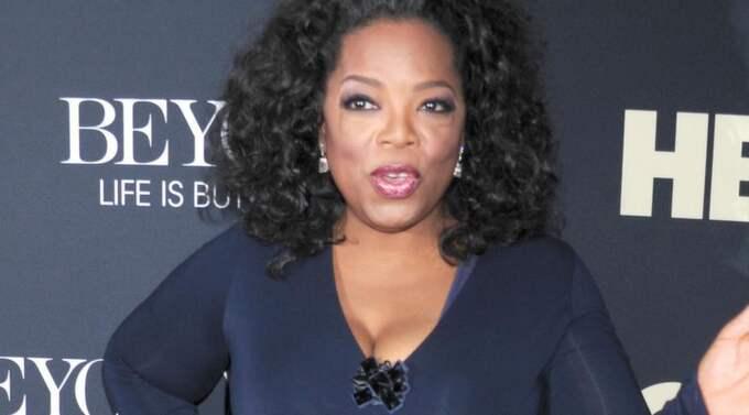 """Oprah Winfrey tog inte illa upp av Terrence Howards bröstkommentar efter kärlekscenen i filmen """"The Butler"""". Foto: Vs / Splash News"""